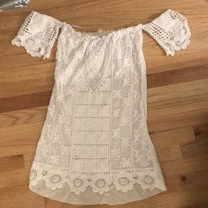 NWT Off the shoulder lace dress